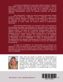 code de la médiation et du médiateur professionnel