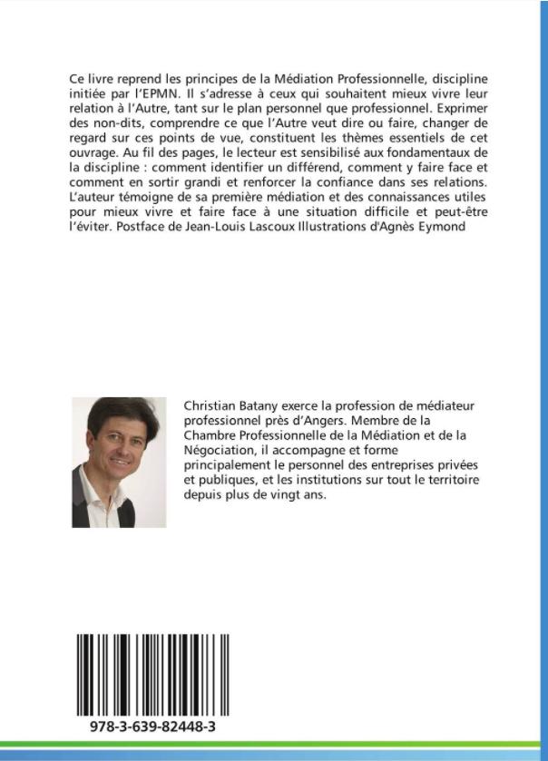 Ma premi re m diation par christian batany boutique de - Chambre professionnelle de la mediation et de la negociation ...